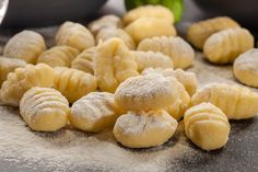 Gnocchi is one of our most favorite uses of potato. Sure you can buy it from the store, but homemade gnocchi tastes so much better. Potato Dumpling Recipe, Potato Gnocchi Recipe, Gnocchi Recipes, How To Cook Gnocchi, Making Gnocchi, Milanesa, Food Network, Italian Potatoes, Food Mills