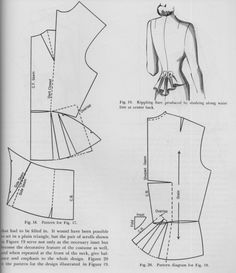 Friday Freebie: Dress Design Draping and Flat Pattern Making – The Perfect Nose Techniques Couture, Sewing Techniques, Vintage Sewing Patterns, Clothing Patterns, Shirt Patterns, Dress Patterns, Sewing Hacks, Sewing Tutorials, Sewing Tips
