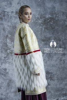 MONCOUTURE WINTER2017 Mongolian traditional clothes Дизайнер: Х,Батзаяа Designer: Batzaya.KH