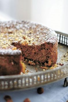"""Flourless Passover carrot torte from Joan Nathan's """"Quiches, Kugels and Couscous"""""""