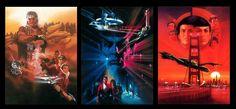 Star Trek II The Wrath of Khan   Star Trek III The Search for Spock  Star Trek IV The Voyage Home