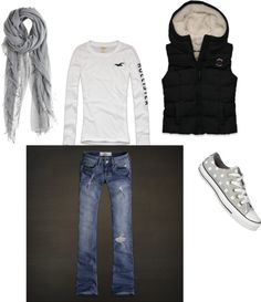 """""""cute fall outfit"""" by jlmendez on Polyvore"""