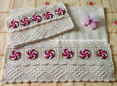 Crochet et Tricot da Mamis: Receitas e Passo a Passo - Jogo de Banheiro