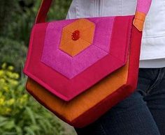 Hex Messenger Bag (kind of impractical but really cute!)