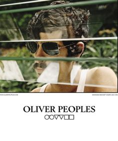 Devendra Banhart models sweet shades for Peoples. Please let it be the Fall 2010 collection...
