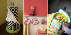 Brighten up the busiest room in your home with these adorable kitchen sewing projects.