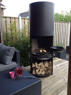 Stijlvolle barbecue / tuinhaard. Deze haard wil je toch in je tuin hebben staan...! - Gardening For You