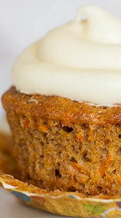Carrot Cupcakes - these look easy & awesome!