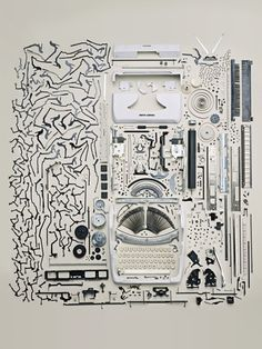 Todd McLellan's deconstructed typewriter