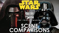 Star Wars: Force Awakens and Original Trilogy - scene comparisons HD version - YouTube