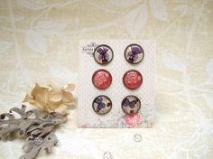 Resin Earrings Post Earrings Stud Earrings Lavender Earrings
