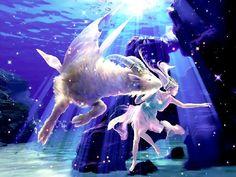Animated screensaver capricorn under water of Zodiac. Here appears an strange creature half fish half goat, representing the zodiac sign of Capricorn. Zodiac Capricorn, Capricorn Love Compatibility, Capricorn Women, Capricorn Traits, Zodiac Art, 12 Zodiac, Capricorn Tattoo, Aries Woman, Sagittarius Constellation