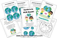 Free Earth Day Preschool Printables