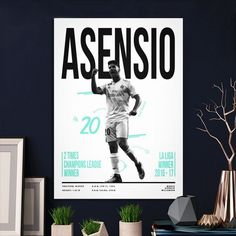 Metal Poster Marco Asensio 20