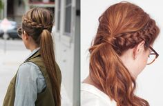 Hairstyles for thick hair!