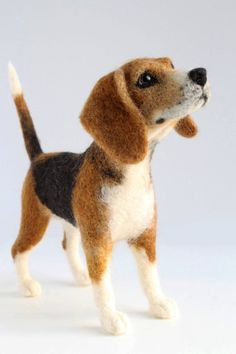 Custom Needle Felted Sculpture of Snickers the by YvonnesWorkshop