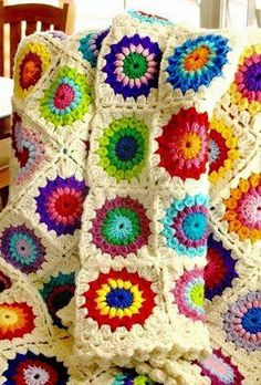Crochet Sunburst