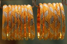 Gold Bangles at the Old Dubai Gold Souk. by Ihsaan Adams   Flickr