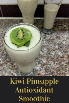 kiwi pineapple antioxidant smoothie