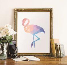 Encontre mais Pintura & caligrafia Informações sobre Geométrica Flamingo arte do cartaz, Parede para decoração de casa, Decoração FA237 20, de alta qualidade imagem do computador desktop, fotos milan China Fornecedores, Barato pictur de 900D em Aliexpress.com