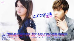hongki and mina Wgm Couples, One Moment, Marriage, Casamento, Wedding, Mariage
