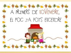 ELS MESOS DE L'ANY Lany, Pre School, Snoopy, Christmas Ornaments, Halloween, Holiday Decor, Sign, Valencia, Planners