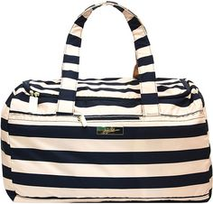 Ju-Ju-Be Legacy Nautical Collection Super Star Large Travel Duffel Bag, The First Mate Baby Diaper Bags, Diaper Bag Backpack, Duffel Bag, Designer Baby Bags, Blue Bags, Baby Accessories, Baby Gear, Ju Ju, Super Star