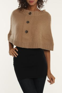 Cashmere Cape... this is really weird, and i like it.