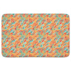Uneekee Fire And Ice Bath Mat