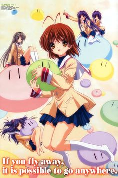CLANNAD:  Best Anime... ever.