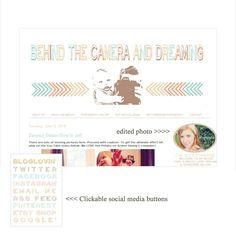 Custom BLOGGER Blog Design