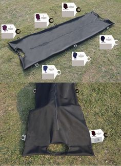This reinvention of the #bodybag is an entirely new processing #system for disaster #victims. #Medical #Health #Design #Innovative #Product #Creative #YankoDesign