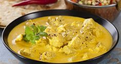 Sautéed pork with curry WEIGHT WATCHERS, an easy recipe and simple to realize … - Recipes Easy & Healthy Thai Pork Curry, Pork Curry Recipe, Mango Chicken Curry, Mango Curry, Curry Recipes, Meat Recipes, Wine Recipes, Chicken Recipes, Healthy Recipes