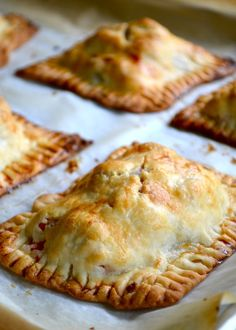 Recipe for Chicken and Vegetable Hand Pies - Chicken & Vegetable Hand Pies.