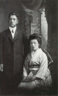 朝吹常吉と妻・朝吹磯子(当時16歳) | 幕末ガイド