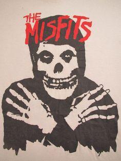 MISFITS vintage 80s tee