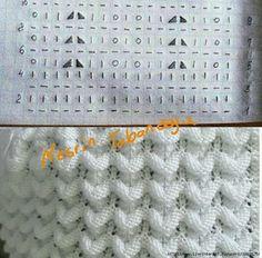 Crochet knit look hat pattern Ideas Lace Knitting Patterns, Knitting Charts, Knitting Stitches, Knitting Designs, Free Knitting, Baby Knitting, Stitch Patterns, Crochet Socks Tutorial, Crochet Baby Socks