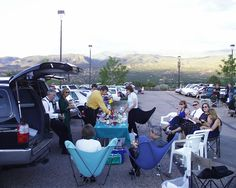 Santa Fe - Santa Fe Opera. Tailgating before the show!