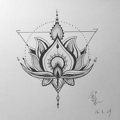 #lotustattoo #lotustattoo #lotus