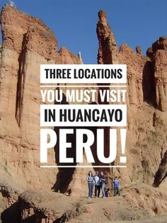 Three Locations You Must Visit in #Huancayo! From the towering rock formations of #TorreTorre to the #Huaytapallana Mountain Range; there are multiple #TreasuresOfTraveling to be explored in this city of #Peru! Backpacking Peru, Peru Culture, Peru Beaches, South America Travel, Rock Formations, Beautiful Places In The World, Travel Guides, Travel Tips, Travel Information