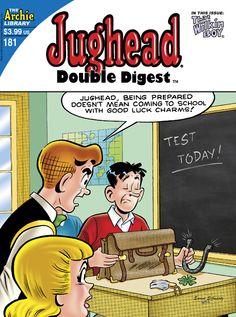 Jughead Double Digest 181, Archie Comic Publications, Inc. https://www.pinterest.com/citygirlpideas/archie-comics/