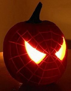 Halloween Pumpkin Designs And Seed Recipe Inspiration For Free Printable Spiderman Carving Jpg 236x301