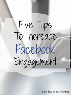 5 Tips to Increase Facebook Engagement The Ultimate Pinterest Party, Week 51