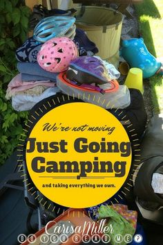 A humorous list: Observations Made While Camping With Young Children