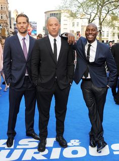 Pin for Later: Look Back at Paul Walker's Best Hollywood Moments Paul suited up alongside Vin Diesel and Tyrese Gibson for the London premiere of Fast & Furious 6 in May 2013.