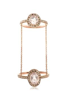 Hippy Marquise Ring by Elise Dray - Moda Operandi