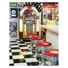Springbok Puzzles - The Malt Shop - 500 Piece Jigsaw Puzzle - Large 18 Inches by Inches Puzzle - Made in USA - Unique Cut Interlocking Pieces