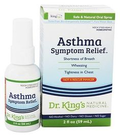King Bio - Homeopathic Natural Medicine Asthma Symptom Relief - 2 oz. formerly