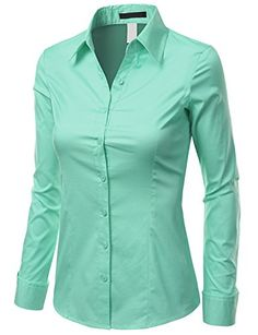 Doublju Women Long Sleeve Basic Simple Spandex Shirt Doublju http://www.amazon.com/dp/B00L3XORSE/ref=cm_sw_r_pi_dp_bwP9tb0RG6FST