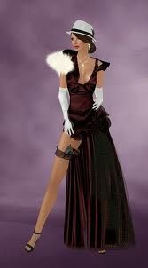 gangster 1930's corsets - Google Search